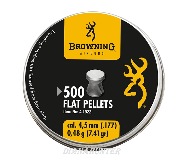 Diabolky Browning Flat 4,5mm